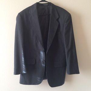 Jeffrey Banks 100% Wool Suit Jacket Blazer 38R
